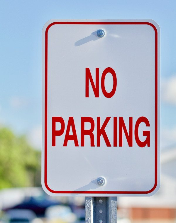 Parking Signs in Myrtle Beach, South Carolina