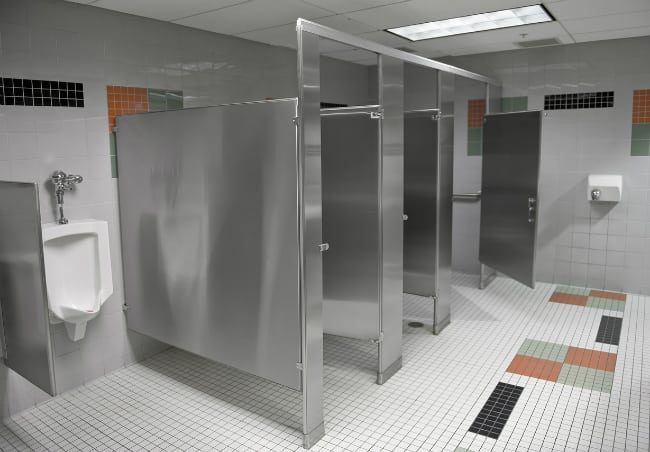 When Should You Replace Restroom Partitions?